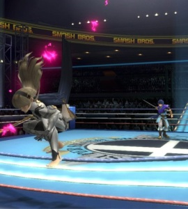 Marth vs corrin Boxing Ring Stage super Smash Bros ultimate Nintendo Switch Punchout