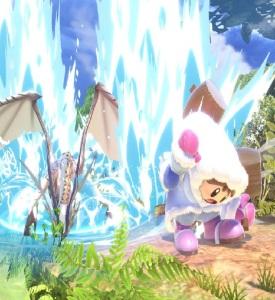 Corrin vs ice climbers super Smash Bros ultimate Nintendo Switch fire Emblem