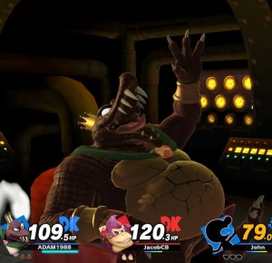Final Smash King K Rool super Smash Bros ultimate Nintendo Switch