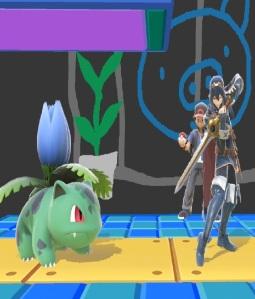 Lucina vs ivysaur super Smash Bros ultimate Nintendo Switch fire Emblem