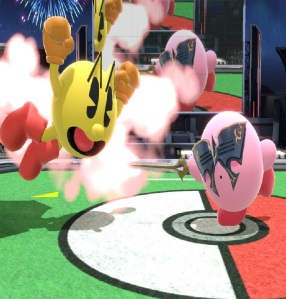 Kirby as Lucina super Smash Bros ultimate Nintendo Switch fire Emblem