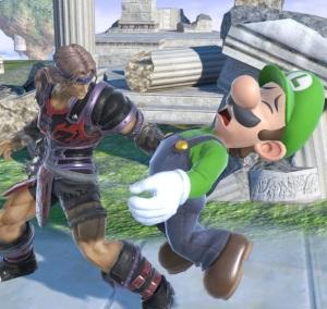 Simon Belmont vs Luigi super Smash Bros ultimate Nintendo Switch Castlevania
