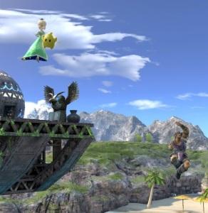 Simon Belmont vs rosalina and luma super Smash Bros ultimate Nintendo Switch Castlevania