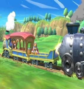 Incineroar vs king Dedede Spirit Train stage super Smash Bros ultimate Nintendo Switch Zelda spirit tracks