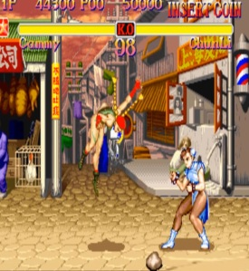 Cammy White vs Chun-Li Super Street Fighter II: The New Challengers Capcom