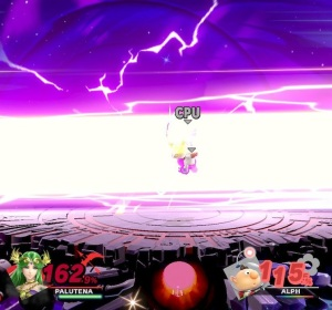 Final Smash palutena mega laser Super Smash Bros ultimate Nintendo Switch kid icarus