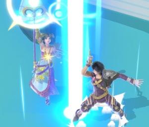 Palutena vs Chrom Super Smash Bros ultimate Nintendo Switch kid icarus