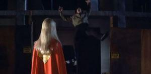 Kara Zor-El vs bad thug Supergirl 1984