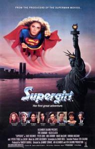 Supergirl 1984 movie poster
