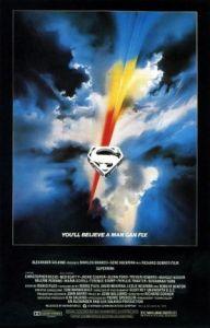 Superman 1978 movie poster Christopher Reeve gene Hackman