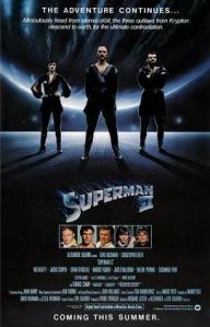 Superman II 1980 movie poster