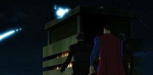 Superman sees tthe elite first time Superman vs. The Elite