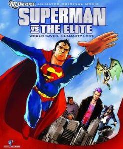 Superman vs. The Elite movie poster