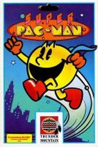 Super Pac-Man poster arcade Namco