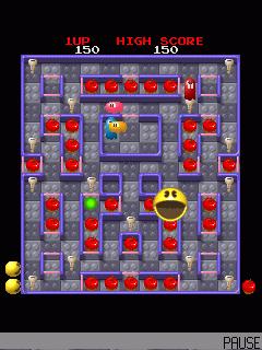 3d version Super Pac-Man arcade