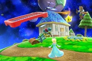 Rosalina and luma vs fox vs Samus Aran Smash 4 WiiU  Nintendo