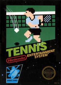 Tennis NES Nintendo boxart
