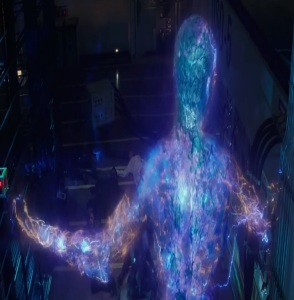 Electro escapes The Amazing Spider-Man 2
