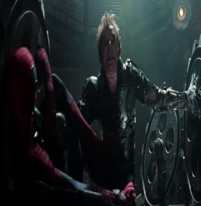 Harry Osborn Green Goblin defeated the amazing Spider-Man 2