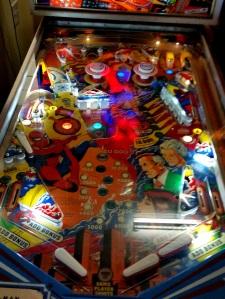 The Amazing Spider-Man Pinball Machine board