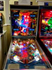 The Amazing Spider-Man Pinball Machine marvel