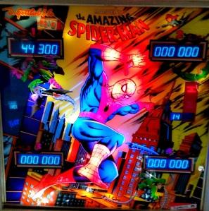 The Amazing Spider-Man Pinball Machine cover