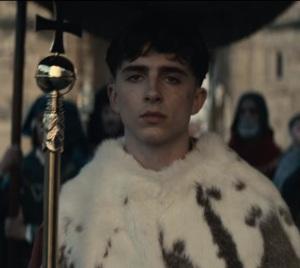 The King Netflix King Henry V coronation