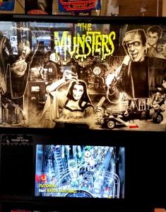 The Munsters Pinball machine