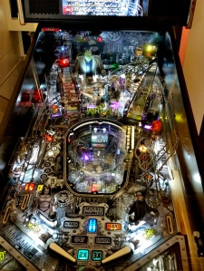 The Munsters Pinball board