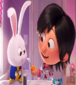 The Secret Life of Pets 2 Snowball the bunny adopted