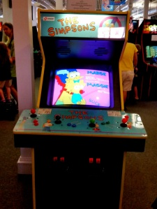 The Simpsons Arcade machine Konami