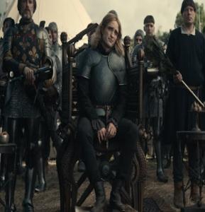 The King Netflix Robert Pattinson prince Louis battlefield