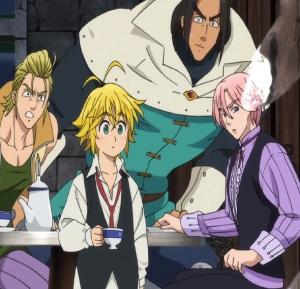 The Seven Deadly Sins anime nanatsu no taizai meliodas defeats Vivian