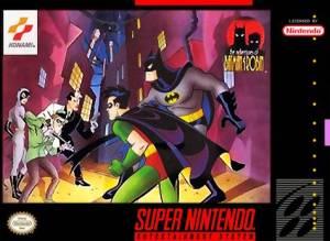 The Adventures of Batman and Robin snes Konami DC comics