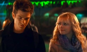 The Amazing Spider-Man 2 Gwen Stacy and Peter Parker on date