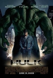 The Incredible Hulk 2008 movie poster