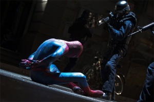 The Amazing Spider-Man Spider-Man vs the NYPD police