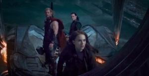 Thor: The Dark World Thor loki Jane Foster on boat