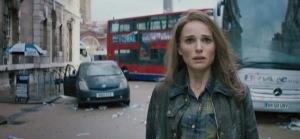 Thor: The Dark World Jane Foster in London England Natalie Portman