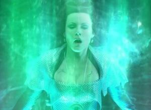 Azkadellia takes the power of the Emerald tin man miniseries