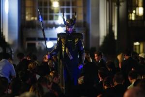 The Avengers Loki in Germany tom Hiddleston