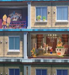 Lucas vs Bowser jr Tomodachi life stage super Smash Bros ultimate Nintendo Switch