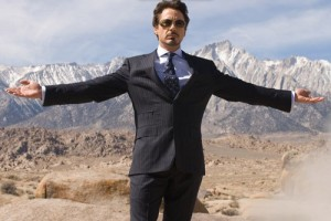 Iron man Tony stark goes to the middle east