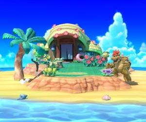 Tortimer Island super Smash Bros ultimate Nintendo Switch animal crossing