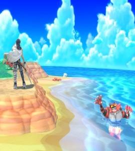 Chrom vs Incineroar Tortimer Island super Smash Bros ultimate Nintendo Switch animal crossing