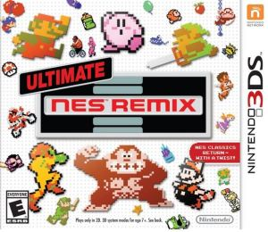 Ultimate NES Remix Nintendo 3DS boxart