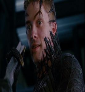 Eddie Brock and venom Spider-Man 3 Topher grace
