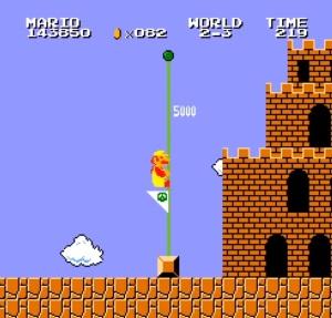 Vs super Mario Bros arcade game