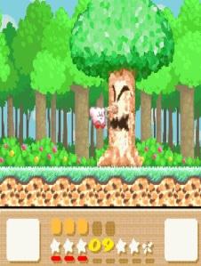 Wispy woods Kirby's Dreamland 3 SNES super Nintendo