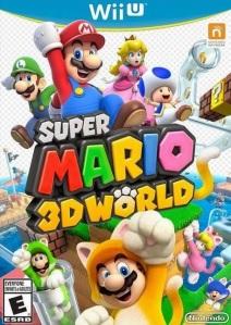 Super Mario 3D World Nintendo WiiU boxart
